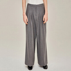 [20%SALE]Relaxed Wide Pants (Gray)