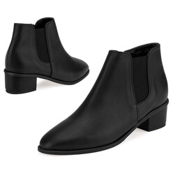 Lf7049 Urbanely Chelsea Boots 블랙