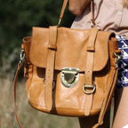 [��������]Old School Bag (Honey Brown)