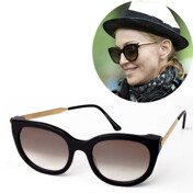 [�����]Lively Black W/Metal Temples