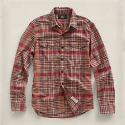 [10%��������]Plaid Workshirt