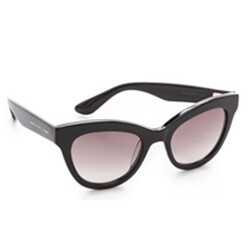 Rounded Cat Eye Sunglasse...