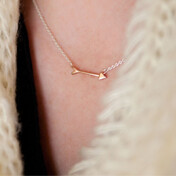 [Md��õ]Arrow Necklace In Rose Gold