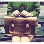 [Ư������]Metallic Bronze Leather Satchel(11.5)