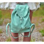 [�ܵ���Ī+Ư������]Mint Pastel Backpack