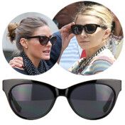 [�Ⱓ���� 15%��������]Acetate Cat Eyes Sunglasses (Row36c)