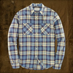 [5%��������]Boise Plaid Shirt