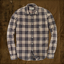 [5%��������]Plaid Ward Shirt