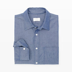 Slim-Fit Dot Dobby Shirt