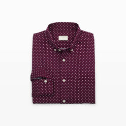 Modern Slim-Fit Dot Shirt