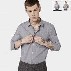 [10%��������]Shirt With Micro...