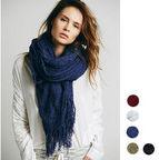[Md��õ]Demi Boucle Oversized Scarf
