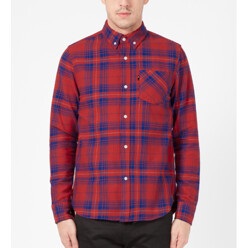 Red Strategy Flannel Shir...