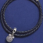 [Set]Dark Blue Bracelet+Christmas Wish Charm