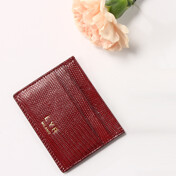 [�ܵ���Ī]D3 Lizard Card Holder (�̴ϼȰ���) Red