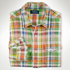 [10%��������]Plaid Jersey Spo...