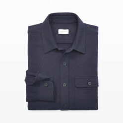 [10%��������]Quilted Navy Cpo