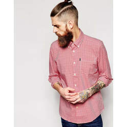 Shirt With Gingham Check ...