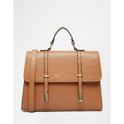 Tab Front Satchel Bag