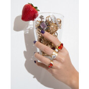 Threesome Heart Ring Set