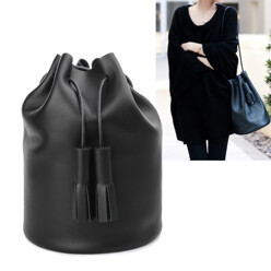 Building Block [F/W 신상품]Smooth Black Leather Bucket 할인가 549,800원