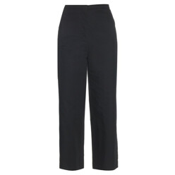 LEMAIRE High-Waisted Cotton And Linen-Blend Trousers 할인가 505,900원