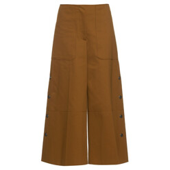 Sonia Rykiel 1970s Long Cotton-Blend Jersey Culottes 할인가 593,400원