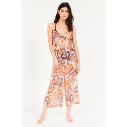 Urban Outfitters Out From Under Keyhole Tie-Up Jumpsuit 할인가 83,900원