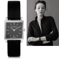 Isabel Marant Stainless Steel And Leather Watch 할인가 1,341,000원