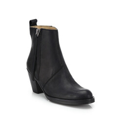 Acne Studios Pistol Leather Ankle Boots 할인가 958,900원