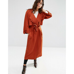 ASOS Mac With Roll Back Sleeve And Double Collar Detail 할인가 164,600원