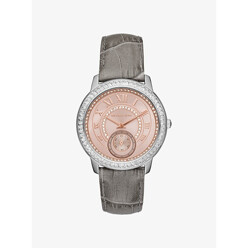 Michael Kors Madelyn Pave Two-Tone And Leather Watch 할인가 226,300원