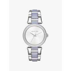 Michael Kors Delray Pave Silver-Tone And Acetate Watch 할인가 226,000원