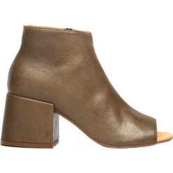 MM6 Maison Martin Margiela Open Toe Leather Boots 할인가 603,700원