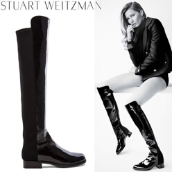 Stuart Weitzman 5050 Stretch Leather Boot 할인가 865,600원