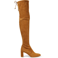 Stuart Weitzman Tieland Suede Over-The-Knee Boots 할인가 1,333,400원