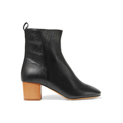 Isabel Marant Etoile Deyis Textured-Leather Ankle Boots 할인가 942,800원