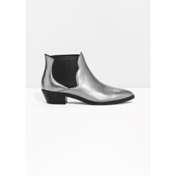&OtherStories Metallic Western Low Shaft Boots 할인가 200,200원