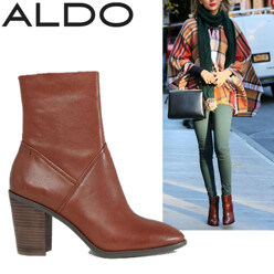 Aldo Fearien Leather Heeled Ankle Boots 할인가 201,700원