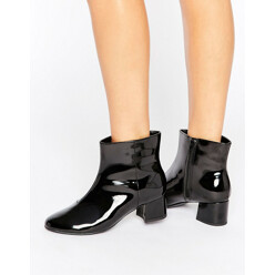 New Look Patent Block Heel Boot 할인가 80,200원