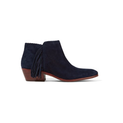 Sam Edelman Paige Fringed Suede Ankle Boots 할인가 151,000원