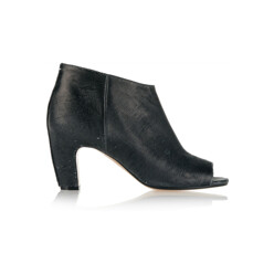 Maison Margiela Textured-Leather Peep-Toe Ankle Boots 할인가 655,300원