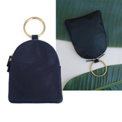 [특가입고+5일배송]Large Ring Pouch In Navy