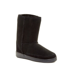 Short Genuine Sheepskin Pug Boot (Women)