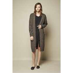 Long Cardigan - Brown