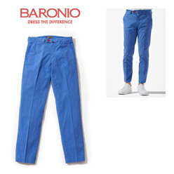 [17 S/S 최초런칭]Men Chino College Pants - Blue