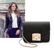 [17 S/S]Metropolis Mini Crossbody Bag In Black