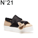 [S/S신상품]Bow Slip-On In Canvas