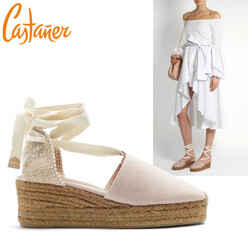 Campina Canvas Wedge Espadrilles