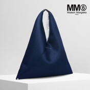 [Ss17] Mesh Triangle Shopper Bag Blue